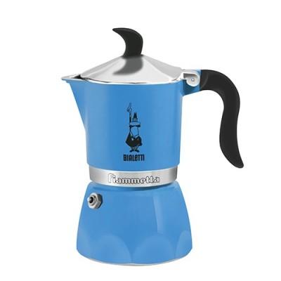 Кафеварка Bialetti Fiammetta - синя - 3 чаши