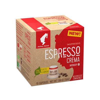 Julius Meinl Inspresso Espresso Crema - капсули, съвместими с Nespresso - 10 броя