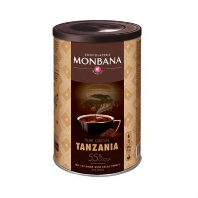 Горещ шоколад Monbana 55% Tanzania - 500 г / 15-16 дози