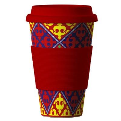 Еко чаша от бамбук Ориент 400 мл