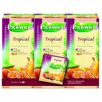 Чай Pickwick Single – Тропически плодове 25 бр.