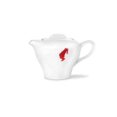 Порцеланов чайник Julius Meinl, бял