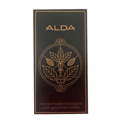 ALDA занаятчийски шоколад с гурме кафе - 70 г