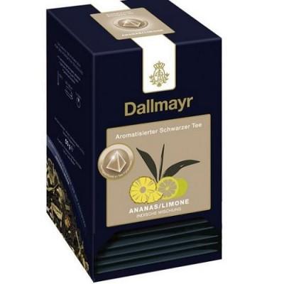 Dallmayr Pyramid teabags - АНАНАС/ ЛАЙМ - 20 броя