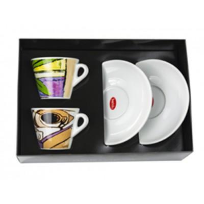 Дизайнерски комплект порцеланови чаши Baristo