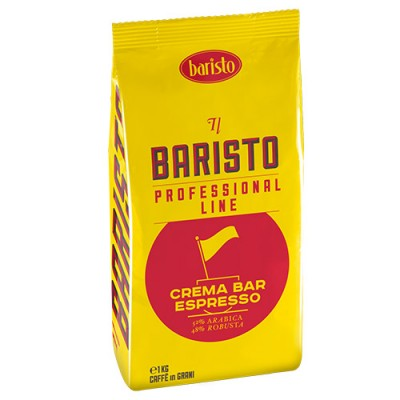 Baristo Crema Bar Espresso – 1 кг кафе на зърна