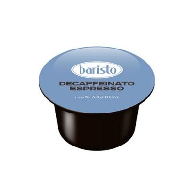 Кафе капсули Baristo Decaffeinato Espresso, 100% Арабика, 100 бр.