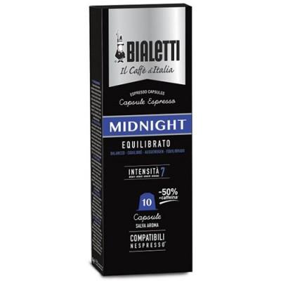 Кафе капсули BIaletti Midnight съвместими със система Nespresso - 10 бр