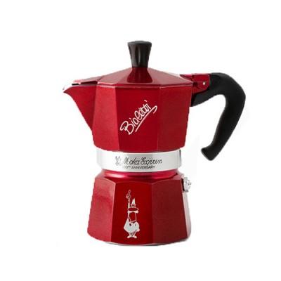 Кафеварка Bialetti Moka Express Red - 3 чаши