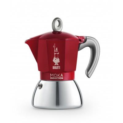 Кафеварка Bialetti Moka червена - 2 чаши