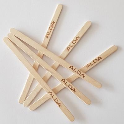 Дървени бъркалки Alda - 220 броя