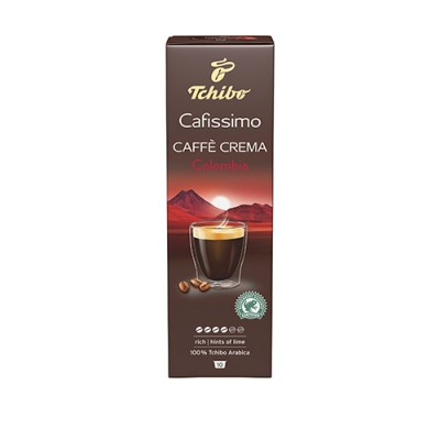 Tchibo Cafissimo Caffè Crema Colombia - 10 капсули