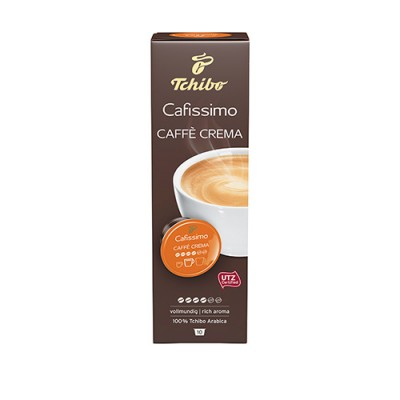 Tchibo Cafissimo Caffe Crema Rich Aroma - 10 капсули