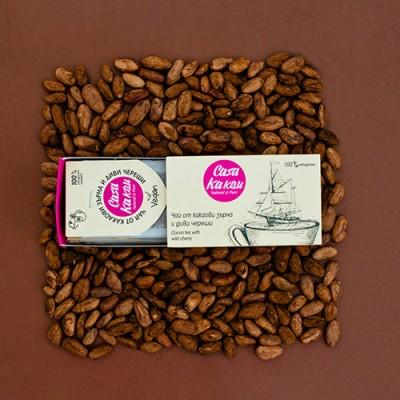Чай от какаови зърна и диви череши
