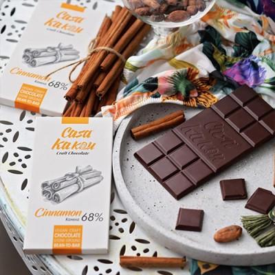 "Casa Kakаu занаятчийски шоколад ""Канела"""