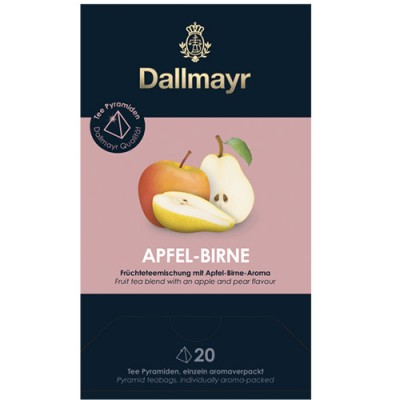 Dallmayr Pyramid teabags - Круша и ябълка - 20 бр.