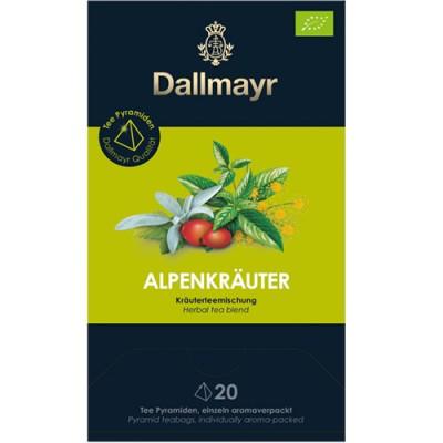 Dallmayr Pyramid Teabags Bio - чай Алпийски билки - 20 пирамидки
