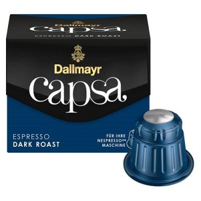 Dallmayr Capsa Espresso Dark Roast - 10 капсули, съвместими с Nespresso