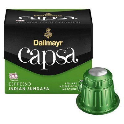 Dallmayr Capsa Espresso Indian Sundara - 10 капсули, съвместими с Nespresso