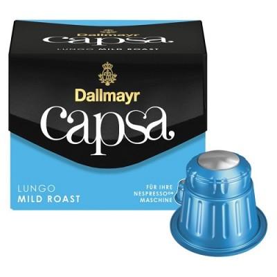 Dallmayr Capsa Lungo Mild Roast - 10 капсули, съвместими с Nespresso