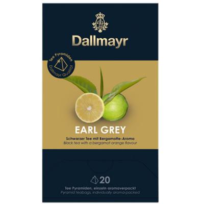 Dallmayr Pyramid Teabags - чай Earl Grey - 20 пирамидки