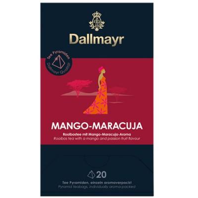 Dallmayr Pyramid Teabags - чай Манго и маракуя - 20 пирамидки