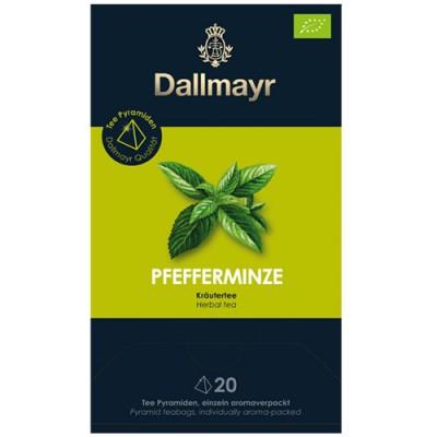 Dallmayr Pyramid Teabags Bio - чай Мента - 20 пирамидки