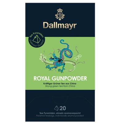Dallmayr Pyramid Teabags - чай Green Tea Gunpowder - 20 пирамидки