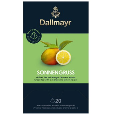 Dallmayr Pyramid Teabags - чай Sun Salutation - 20 пирамидки