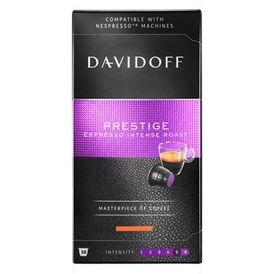 Davidoff Prestige - 10 капсули, съвместими с Nespresso