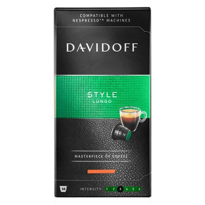 Davidoff Style - 10 капсули, съвместими с Nespresso
