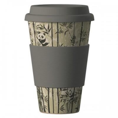 Еко чаша от бамбук Панди 400 мл