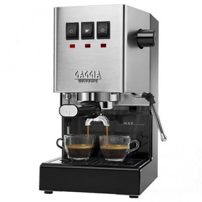 Gaggia Classic Inox за мляно кафе и дози Е.S.E.
