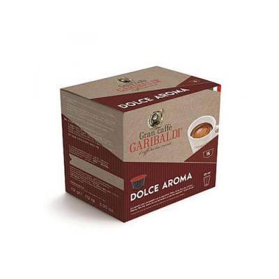 GARIBALDI Dolce Aroma - капсули, съвместими с Dolce Gusto – 16 броя