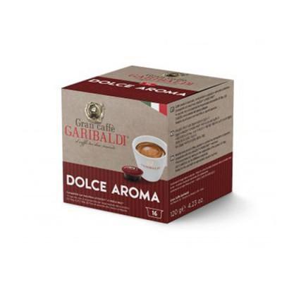 GARIBALDI Dolce Aroma - капсули, съвместими с А Modo Mio – 16 броя