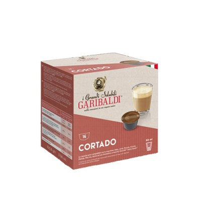 GARIBALDI Cortado - капсули, съвместими с Dolce Gusto – 16 броя