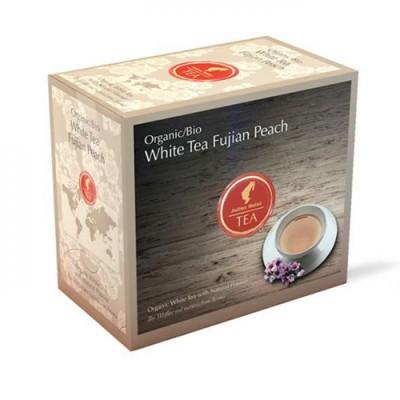 Julius Meinl БИО чай Бял чай с праскова - BIO White fujian peach - 20 бр.