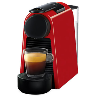 Кафемашина Nespresso Essenza Mini, червена