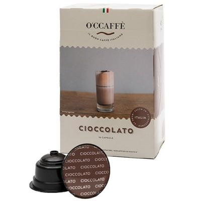 O'CCAFFÈ Cioccolato - 16 капсули, съвместими с Dolce Gusto