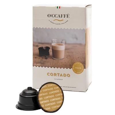 O'CCAFFÈ Cortado - 16 капсули, съвместими с Dolce Gusto