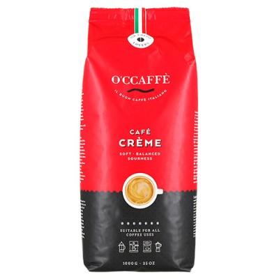 O'CCAFFÈ Cafe Creme - 1 кг кафе на зърна