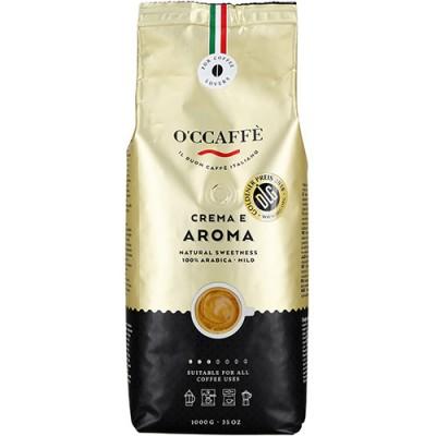 O'CCAFFÈ Crema e Aroma 100% Arabica - 1 кг кафе на зърна