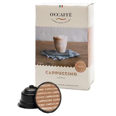 O'CCAFFÈ Cappuccino - 16 капсули, съвместими с Dolce Gusto