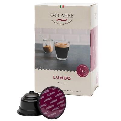 O'CCAFFÈ Lungo - 16 капсули, съвместими с Dolce Gusto