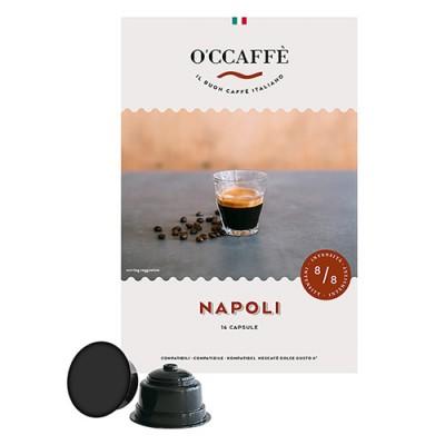 O'CCAFFÈ Napoli - 16 капсули, съвместими с Dolce Gusto