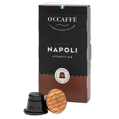 O'CCAFFÈ Napoli - 10 капсули, съвместими с Nespresso