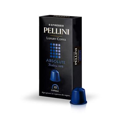 Pellini Absolute - 10 капсули, съвместими с Nespresso