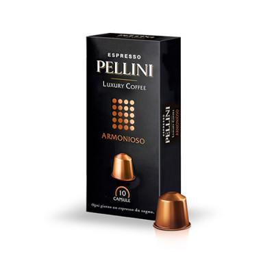 Pellini Armonioso - 10 капсули, съвместими с Nespresso