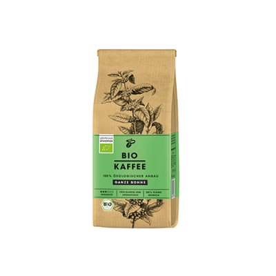 Tchibo Bio Coffee - 250 г кафе на зърна