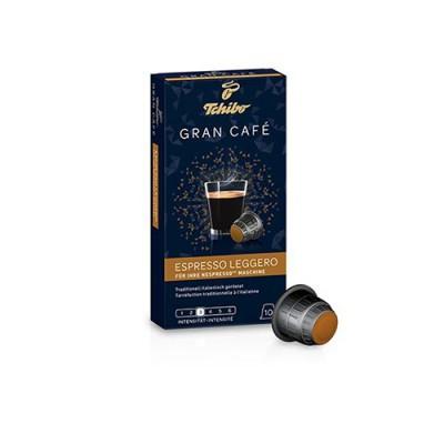 Tchibo Gran Café Espresso Leggero - 10 капсули, съвместими с Nespresso